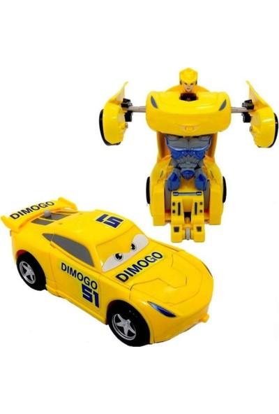 Damra Bebe Robota Dönüşen Çek Bırak Araba