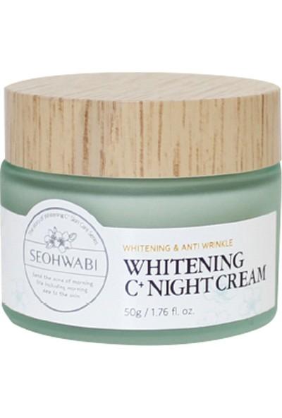 Seohwabi C Vitaminli Aydınlatıcı Gece Kremi