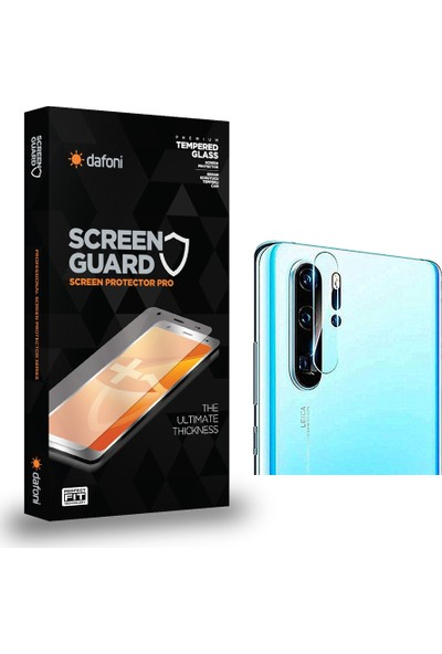 Dafoni Huawei P30 Pro Cam Kamera Koruyucu