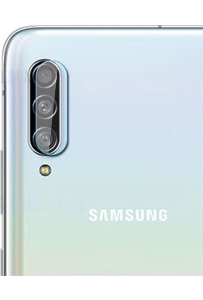 Dafoni Samsung Galaxy A90 Cam Kamera Koruyucu
