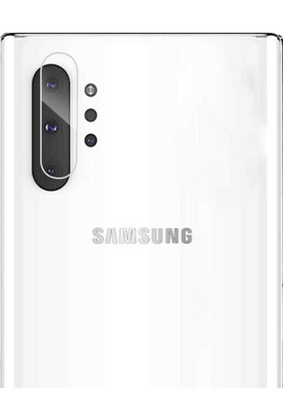 Dafoni Samsung Galaxy Note 10 Plus Cam Kamera Koruyucu