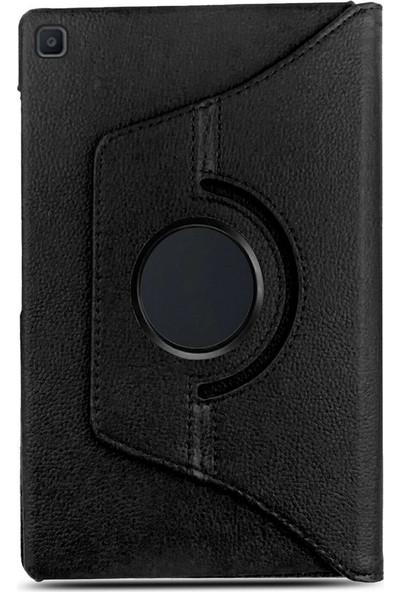 Tbkcase Samsung Galaxy Tab A 8.0 T290 360 Dönerli Standlı Kılıf Siyah