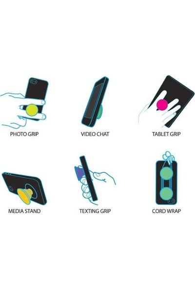 Syronix Pop Socket FTNH Yazı Desenli Telefon Tutacağı