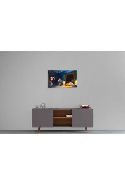 Parmak İzi Tablo Stanisław Chlebowski - Yıldırım Beyazıt ve Timur - 40X70