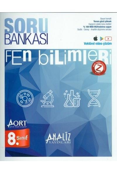 Analiz Yayınları 8. Sınıf Fen Bilimleri Aort Yeni Nesil Soru Bankası