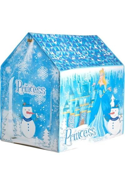 Furkan Frozen Elsa Çadır + Elsa Frozen Bebek 2'li Set