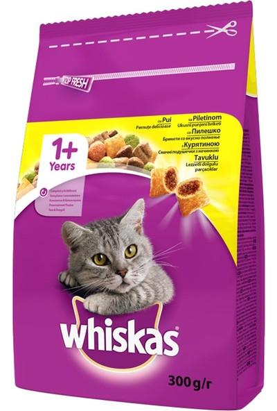 Whiskas Tavuklu Sebzeli Yetişkin Kedi Maması 300 gr