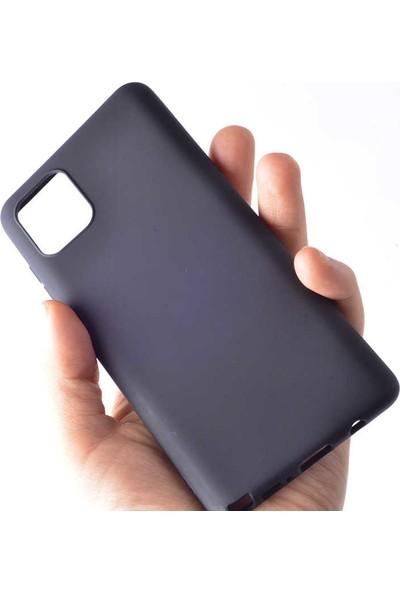 Coverzone Samsung Galaxy Note 10 Lite Kılıf Premier Slikon Pre Siyah
