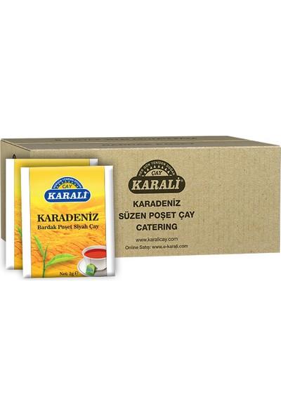 Karali Karadeniz Bardak Poşet Siyah Çay 1000'li 2 gr