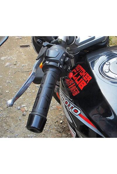Knmaster Motosiklet Evrensel Dört Kademeli Elcik Isıtma