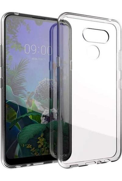 Tekno Grup LG K50s Kılıf Darbe Emici Süper Silikon Kılıf Şeffaf