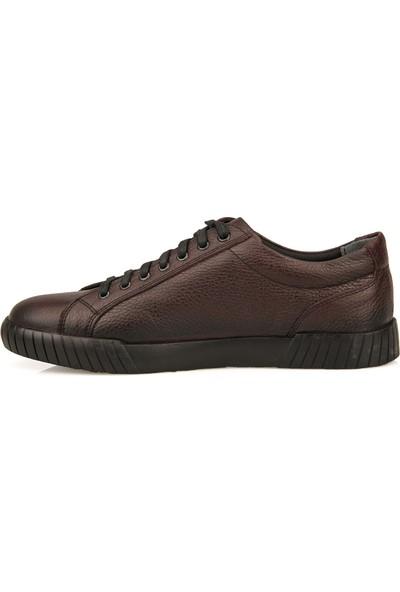 Ziya Deri Erkek Ayakkabı 93415 623219 Bordo