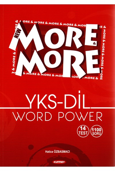 Kurmay Elt More And More YKS Dil Word Power