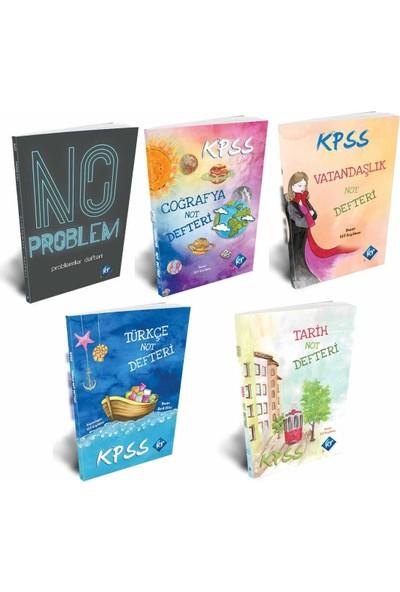 Kr Akademi 2020 KPSS Defter Seti Tarih - Coğrafya - Vatandaşlık - Türkçe - Problemler