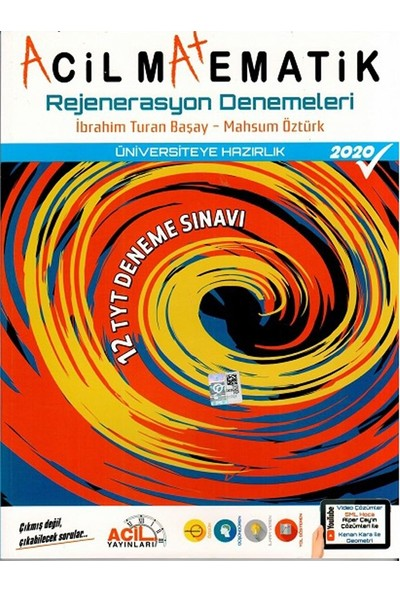Acil Yayınları Acil Matematik Rejenerasyon 12 Li Denemeleri