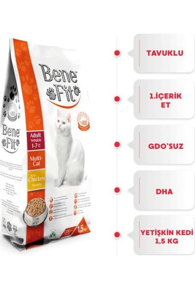 Benefit Adult Multi-Cat Yetişkin Kedi Maması 1.5 Kg
