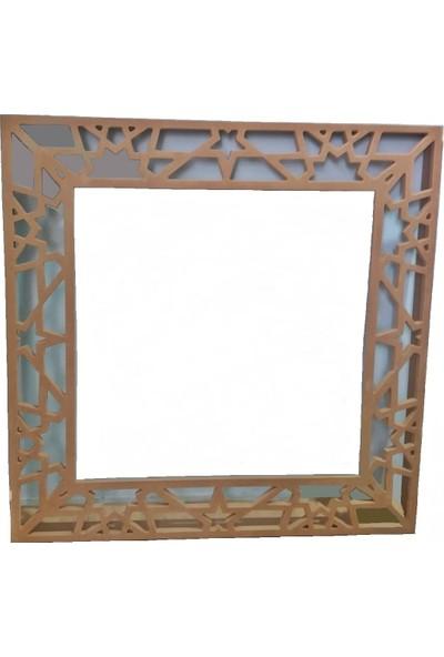 TDM Mobilya Ayna Resim Çerçevesi Cnc Işlemeli Ahşap Çerçeveler