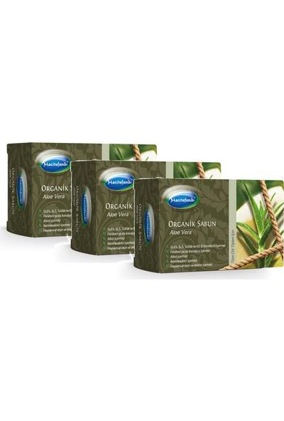 Mecitefendi Organik Aloe Vera Özlü Sabun 125 gr x 3 Adet