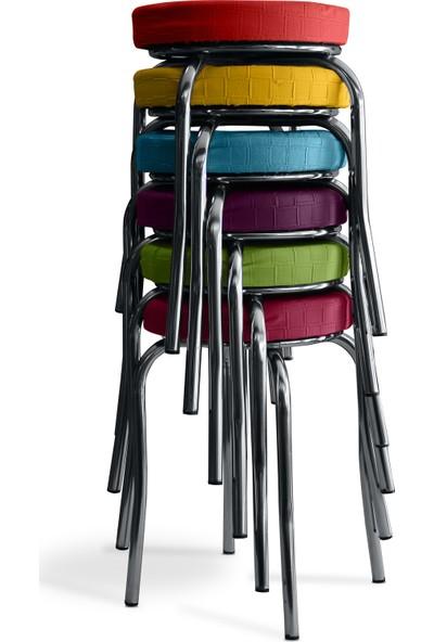 Özçelik Sandalye Grup Tabure 6 Adet