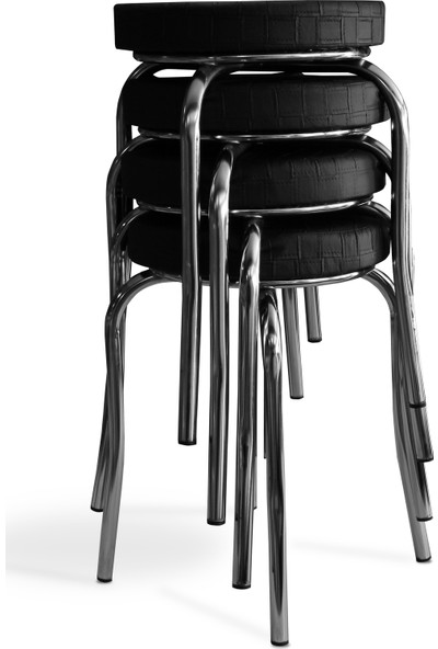Özçelik Sandalye Grup Tabure 4 Adet