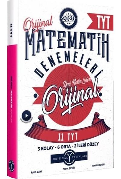 Orijnal Yayınları Tyt Orijnal Matematik 11'li Denemeleri
