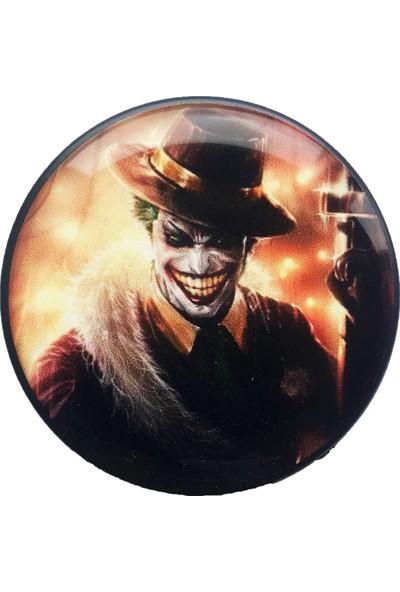Syronix Pop Socket Alevlerin Içinde Joker Desenli Telefon Tutacağı