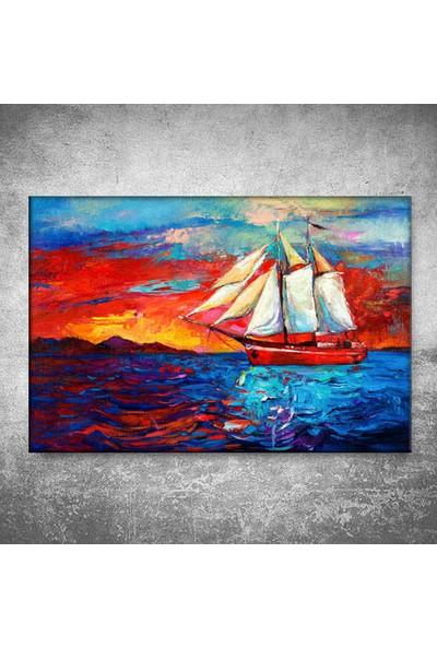 Dekormatik Yağlı Boya Kanvas Tablo
