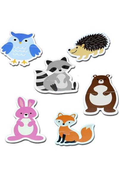 Neobebek Baby Puzzle - Orman Hayvanları