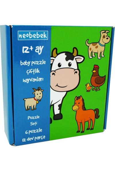Neobebek Baby Puzzle - Çiftlik Hayvanları