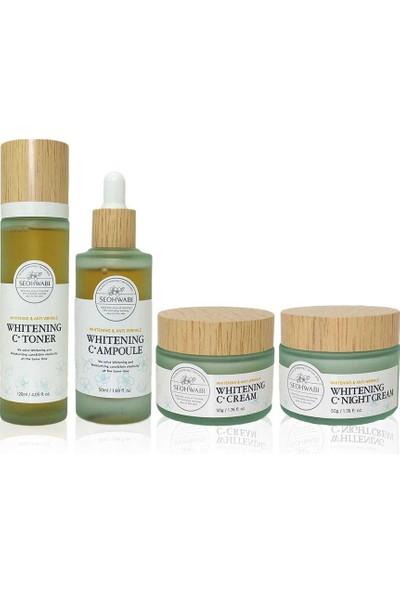 Seohwabi Whitening C+ Skin Care Set - Aydınlatıcı C Vitaminli Cilt Bakım Seti