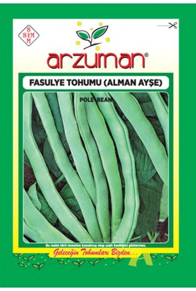 Arzuman Sebze Alman Ayşe Fasulye Tohum 50 gr