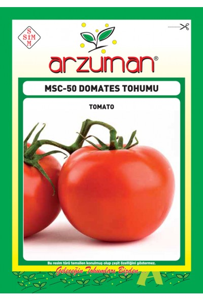 Arzuman Sebze Domates Tohum MSC-50 - 5 gr