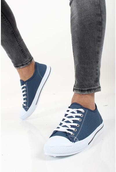 Oksit Kanvas Erkek Keten Ayakkabı