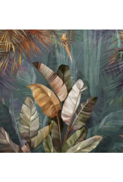 Duvar Kağıdı Marketi 3D Tropikal Çicekli Duvar Kağıdı