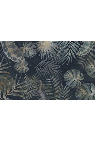 Duvar Kağıdı Marketi 3D Yapraklı Duvar Kağıdı(440 x 275 Cm)