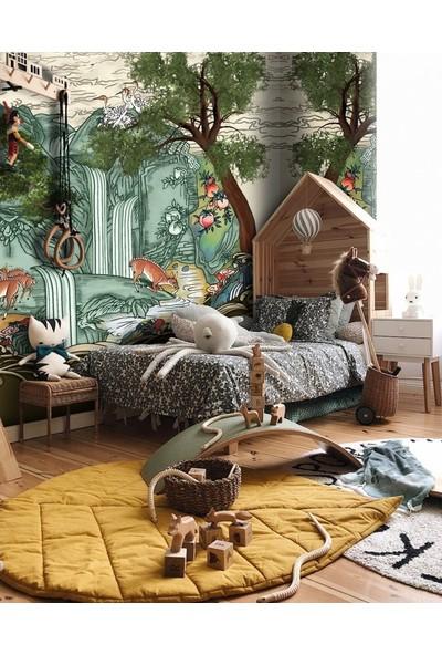 Duvar Kağıdı Marketi Orman Görünümlü 3D Duvar Kağıdı