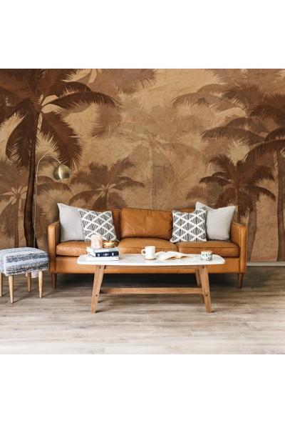 Duvar Kağıdı Marketi Tropikal Palmiye Ağacı Muz Yapraklı Duvar Kağıdı