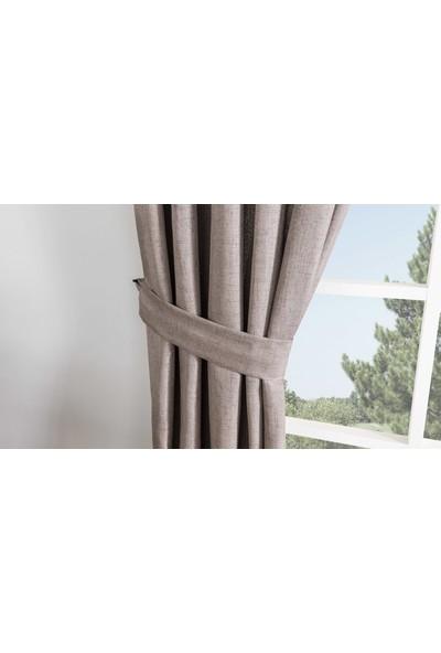 Gauze Fabric Design Vivaldi Vizon Fonluk Perde 50 x 260 Pilesiz