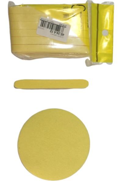 C Hivey Beauty Yüz Temizleme Süngeri 1 Paket 12 Adet Sarı