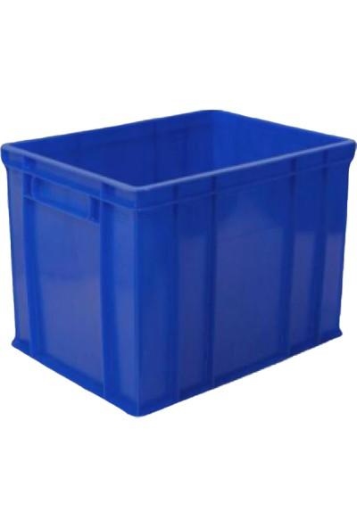 Hira Sanayi Tipi Kapalı Plastik Kasa Plastik Sanayi Kasası 30 x 40 x 30 cm