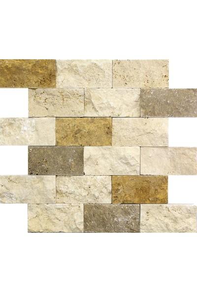 Natural Patlatma Taş 3'lü Mix 5 x 10 cm