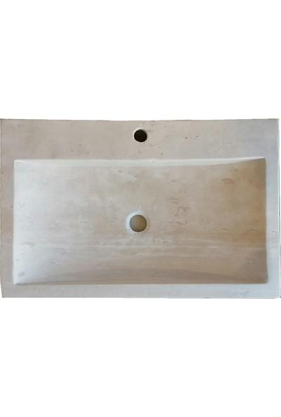Natural Mermer Lavabo 12 x 45 x 70 cm