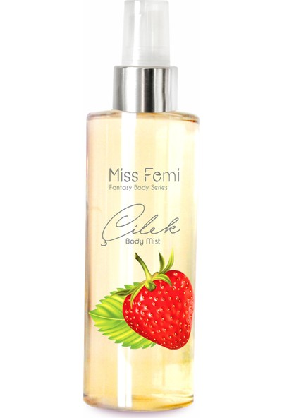 Misedor Fantasy Body Mist - Çilek 150 Ml