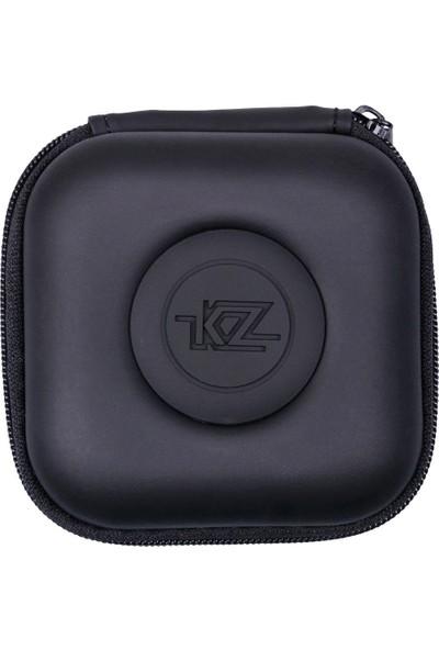 Kz Pu Mini Kare Kulaklık Taşıma Çantası