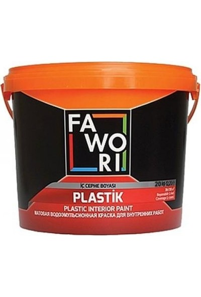 Fawori Plastik İç Cephe 20 kg Lila