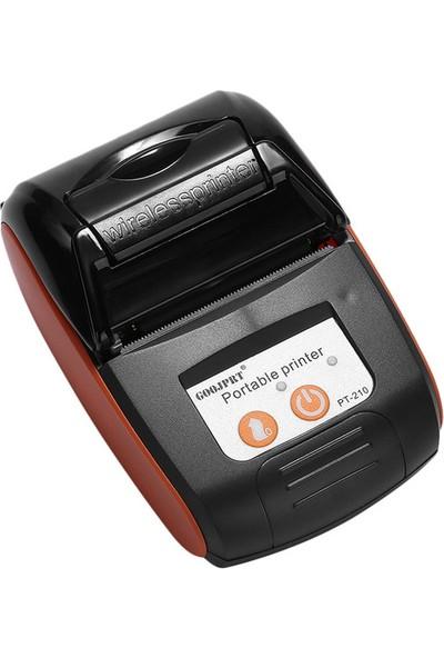 Goojprt PT-210 Taşınabilir Bluetooth Termal Yazıcı 58 mm