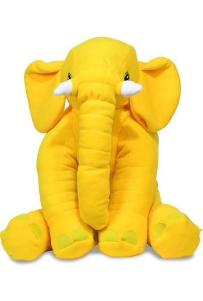 Prado Uyku Arkadaşım, Uyku Fili Yastık 60CM Sarı