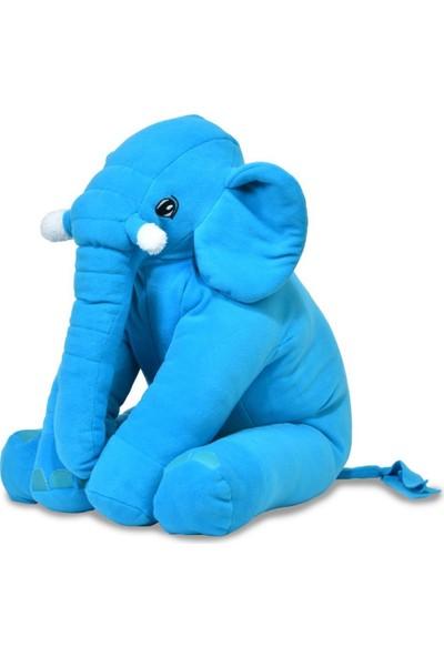 Prado Uyku Arkadaşım, Uyku Fili Yastık 60CM Mavi