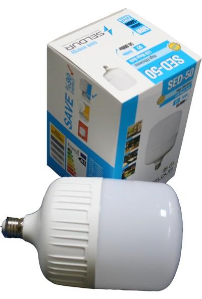 Seldur 50W Büyük Boy Torch LED Ampul E27 Duy