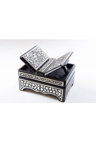 Enka Gümüş Kaplama Rahleli Sandık 21 x 29 cm